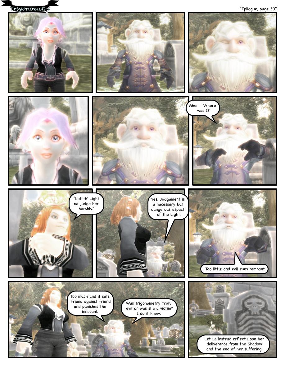 Epilogue, page 30