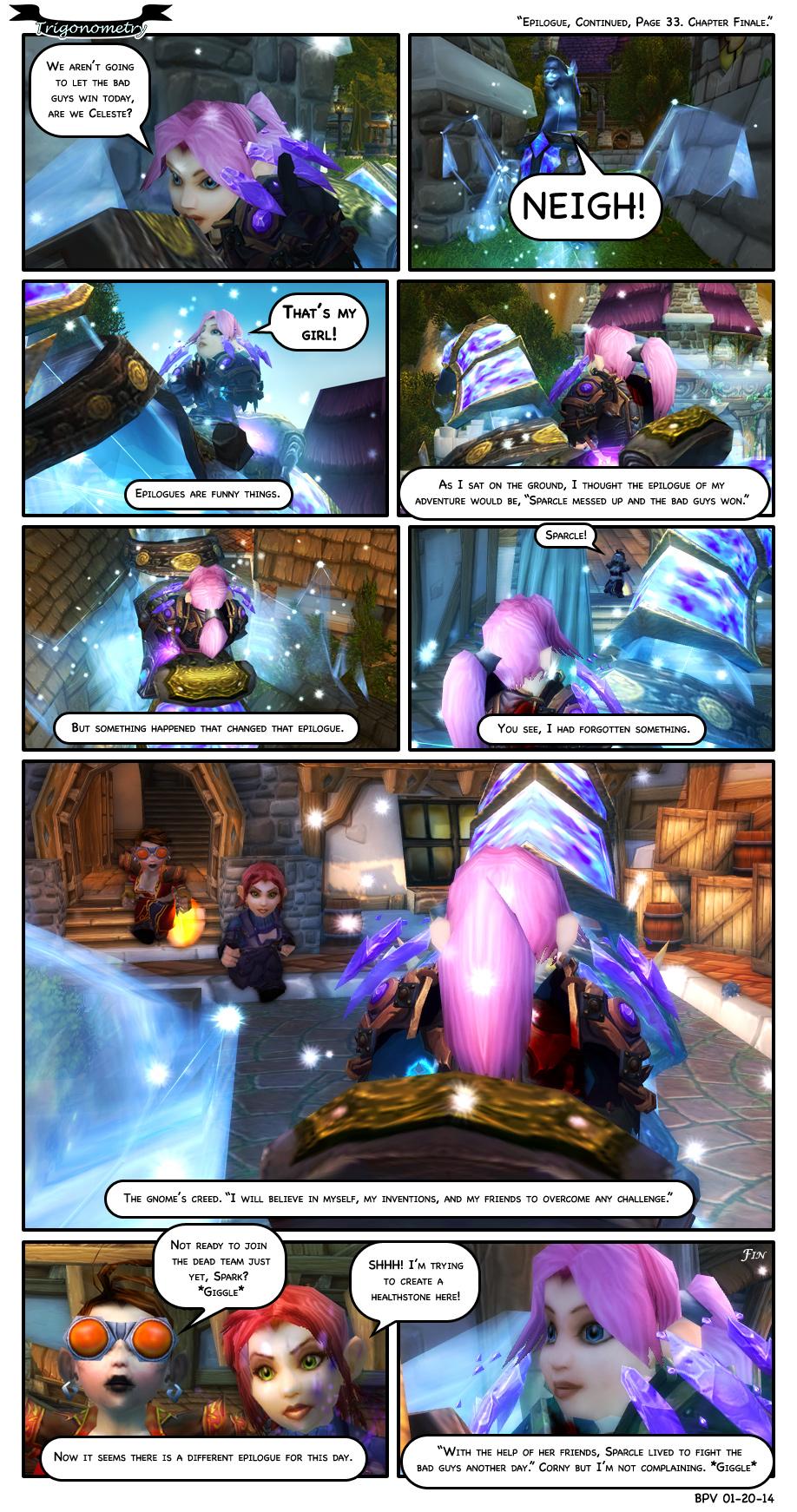 Epilogue, Continued. Page 33